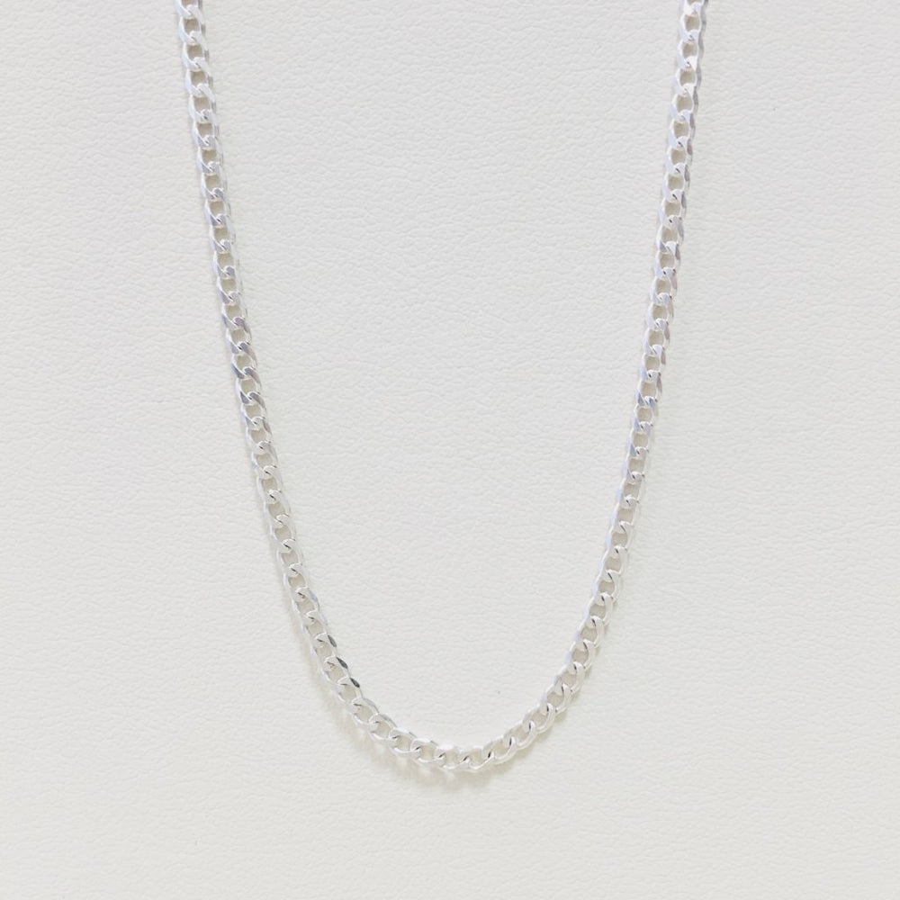 Small Cuban Chain Necklace - Sterling Silver