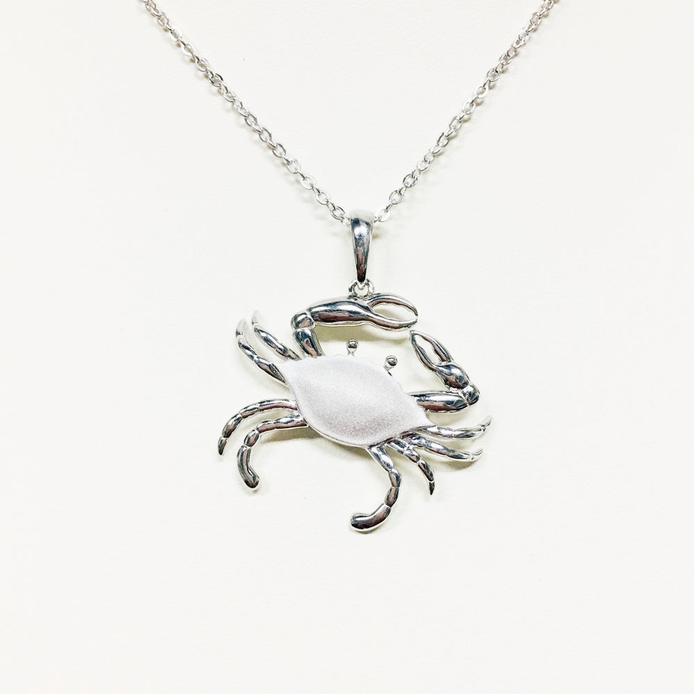 Silver Crab Necklace - Alamea