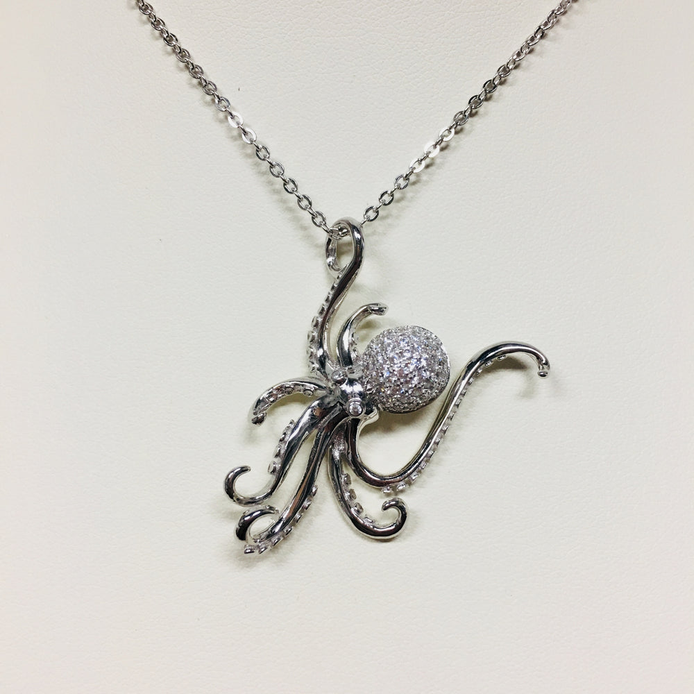 Octopus Necklace - Alamea