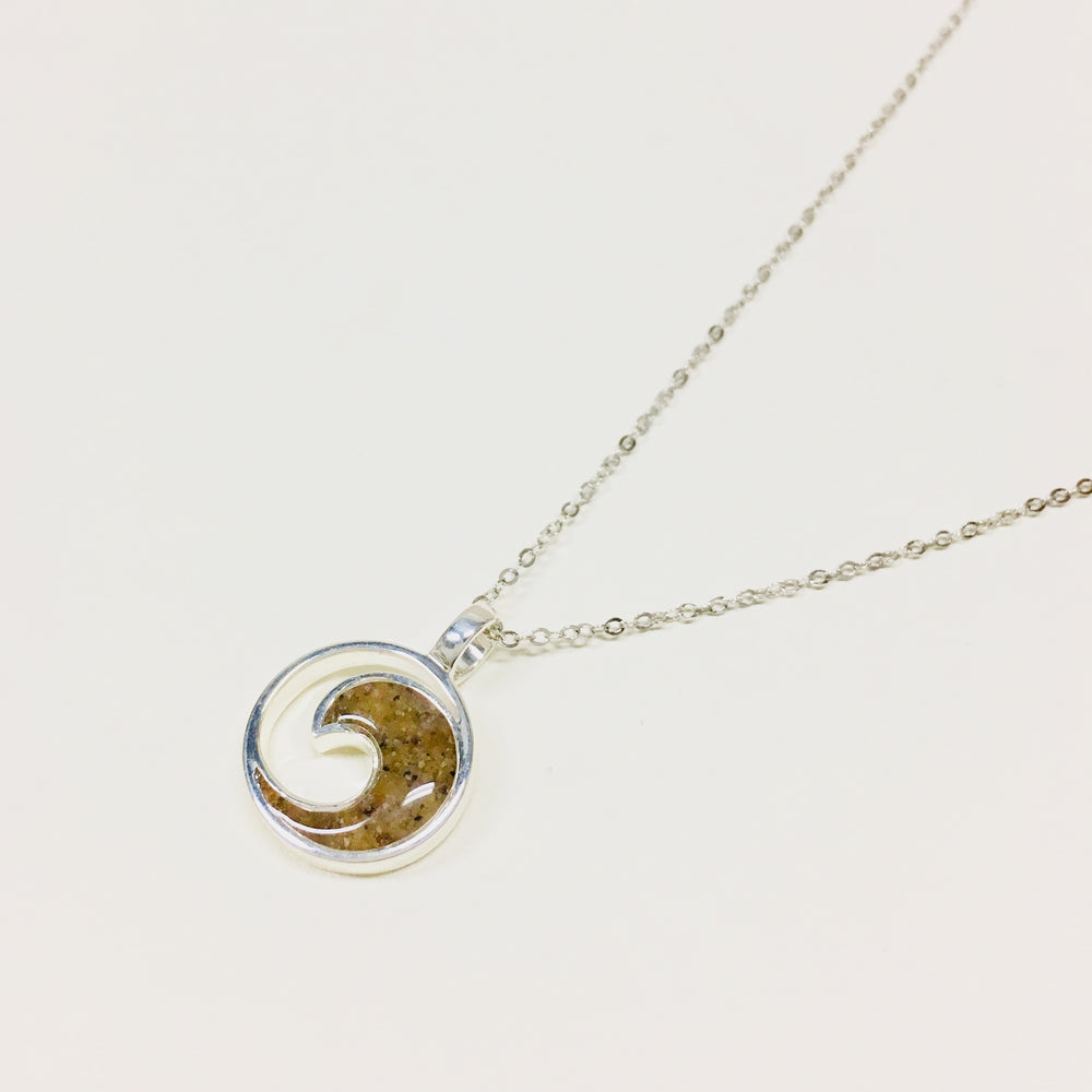 Dune Jewelry Sterling Wave Necklace