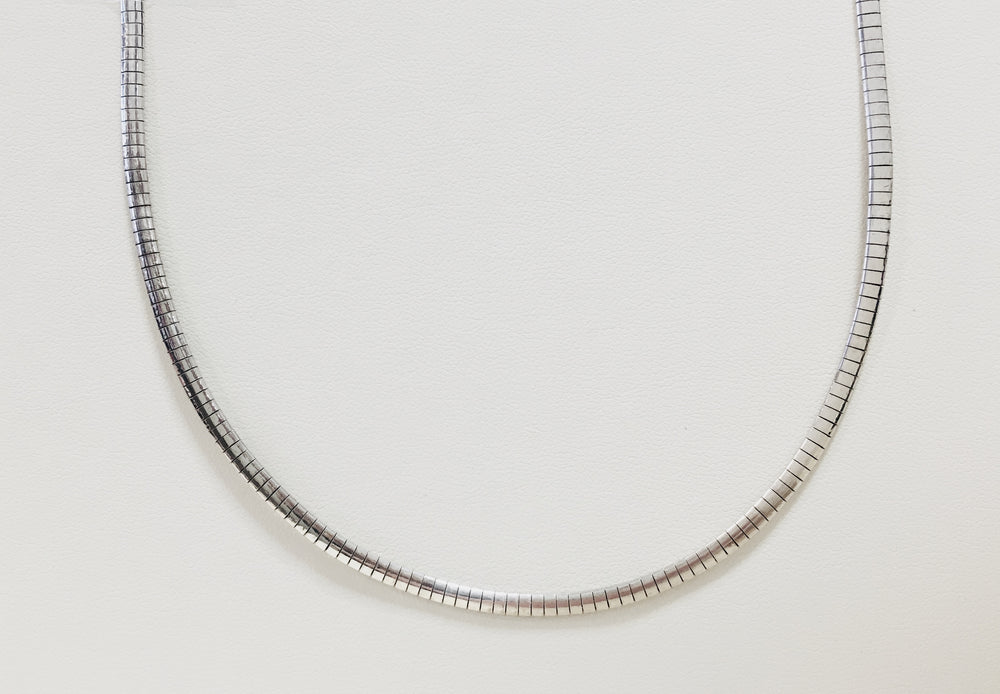 Omega Chain - Sterling Silver
