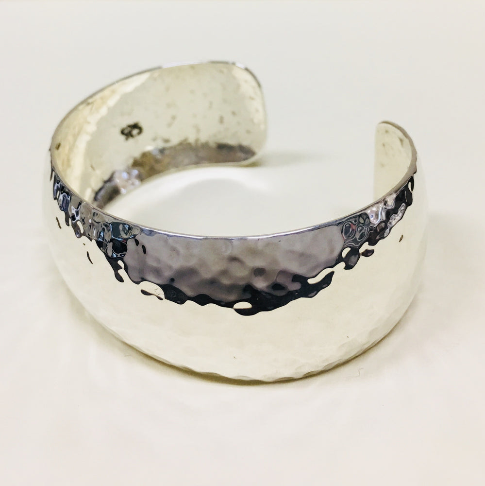 Hammered Cuff - Mexico Sterling Silver