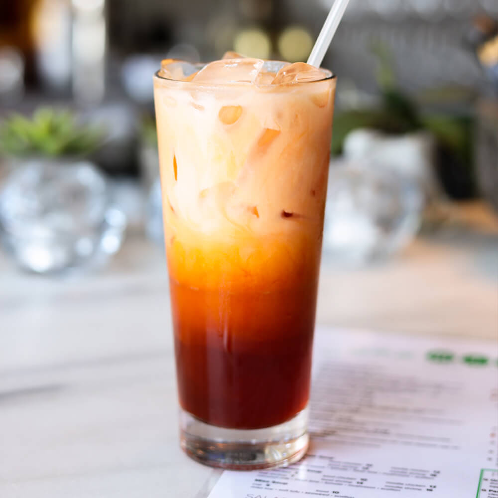 Thai Iced Tea by Asian Mint located in Shops of Highland Park - Dallas | BuDhaGirl