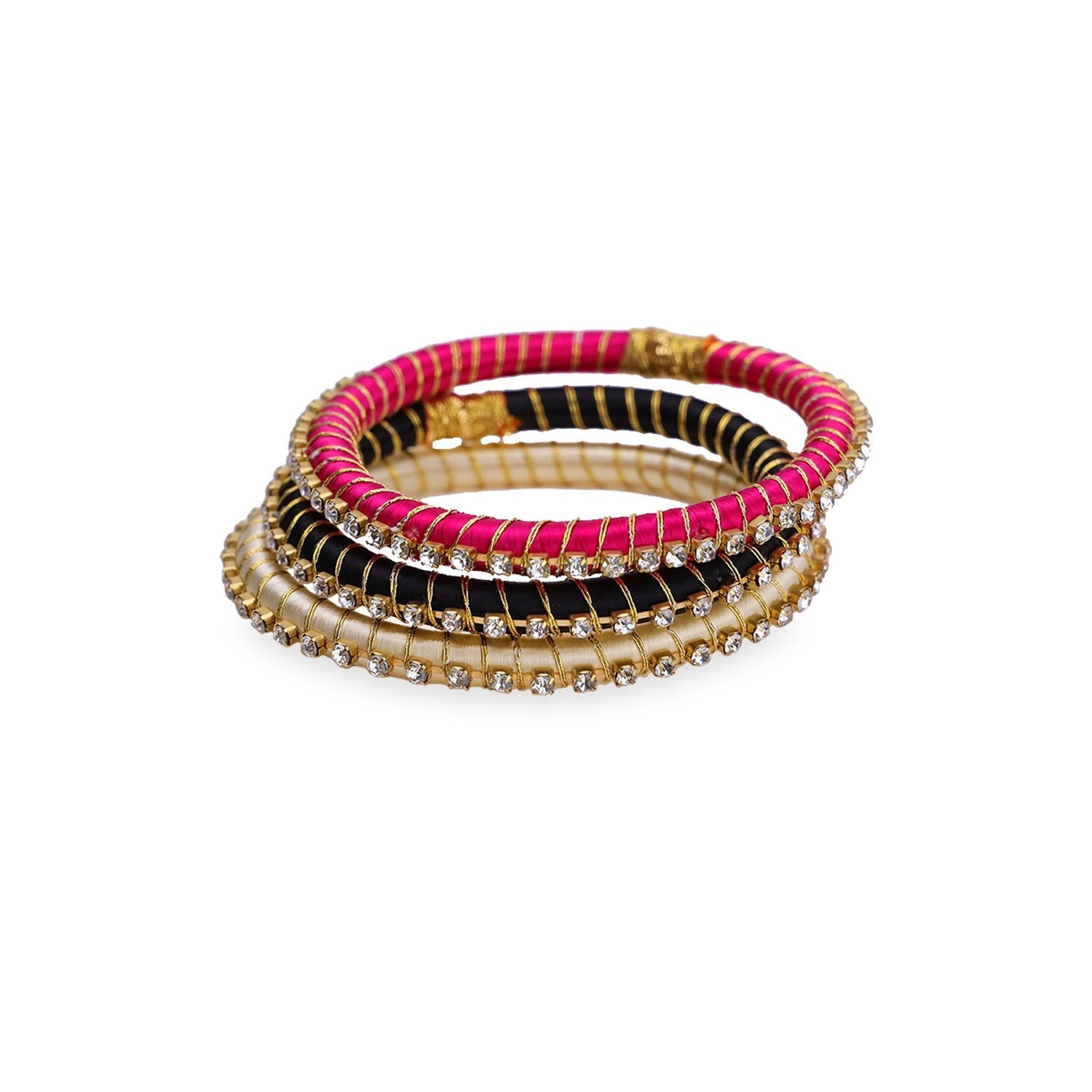 Malia Silk Wrap Bangle - Midi Set - BuDhaGirl