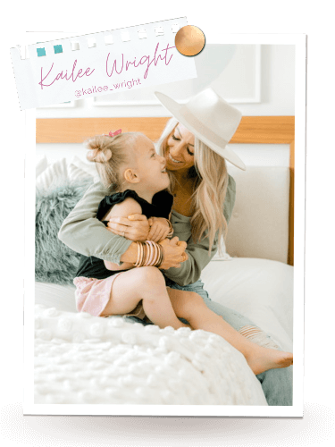 Kailee Wright with her daughter | BuDhaGirl