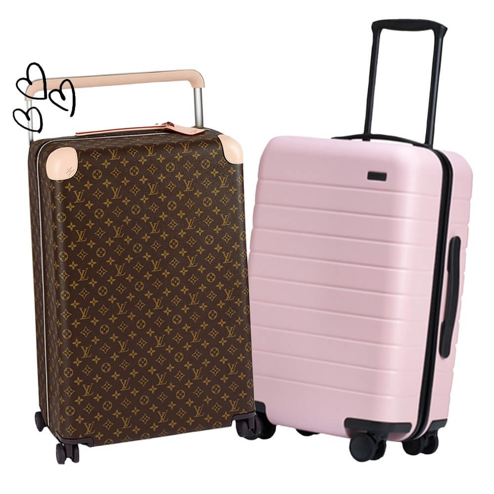 Louis Vuitton carry-on suitcase | BuDhaGirl