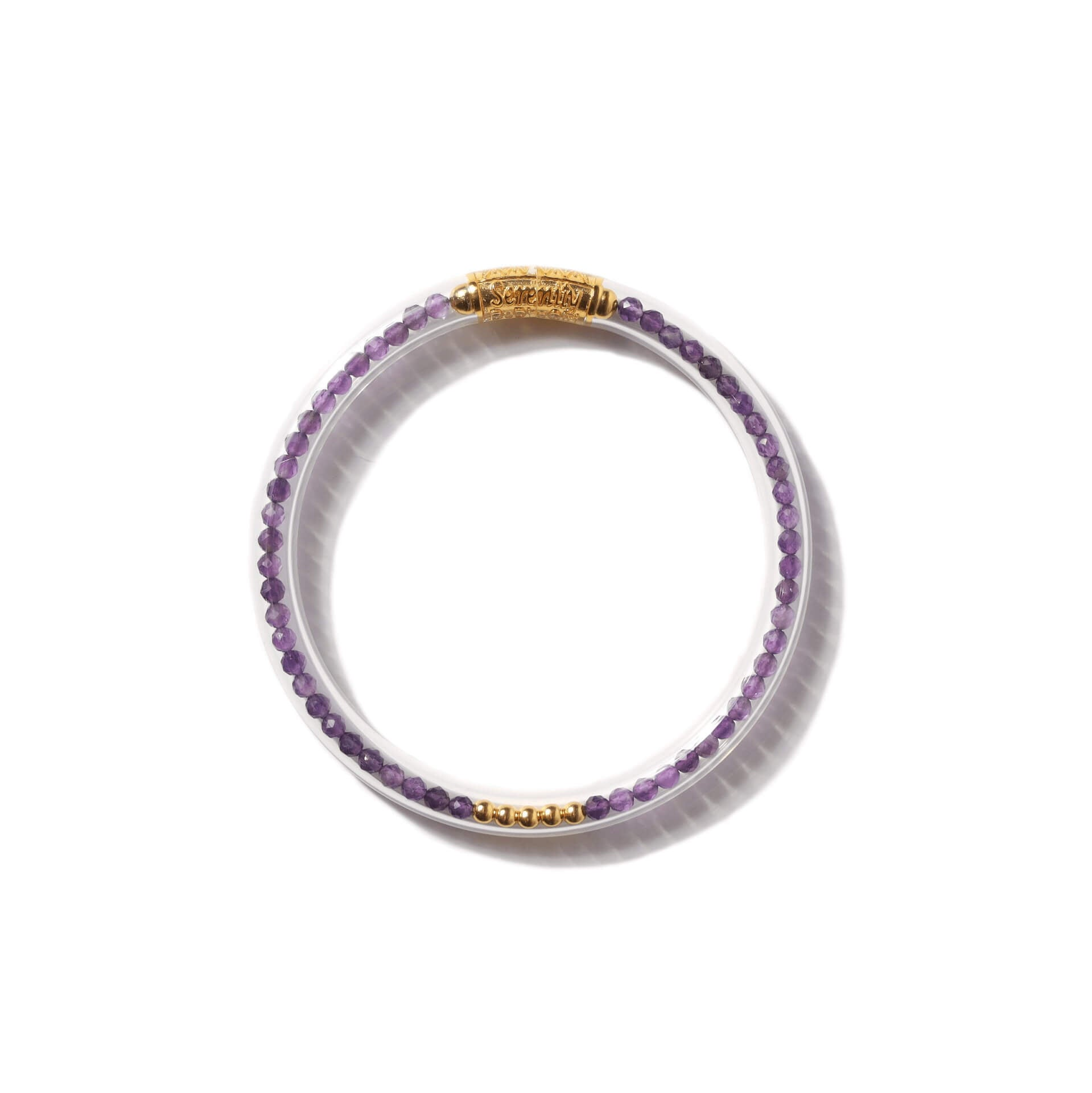 Luxe All Weather Bangle - Amethyst | BuDhaGirl