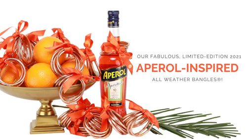 BuDhaGirl Aperol Inspired All Weather Bangles® for Buy One Give One - 2021 | BuDhaGirl