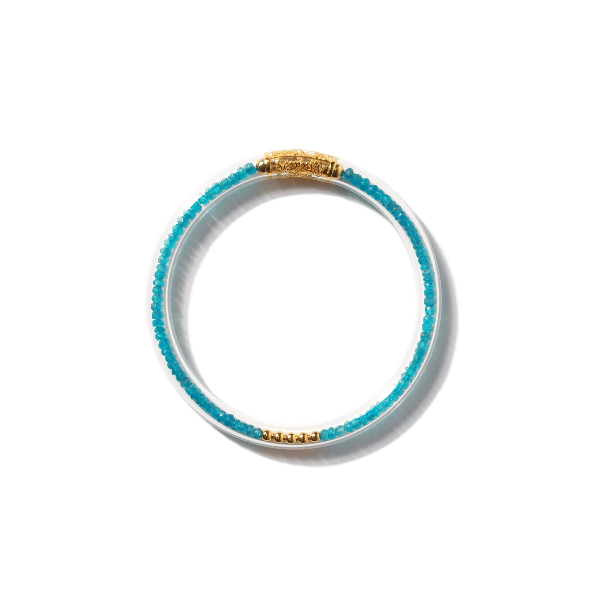 Luxe All Weather Bangle - Apatite | BuDhaGirl