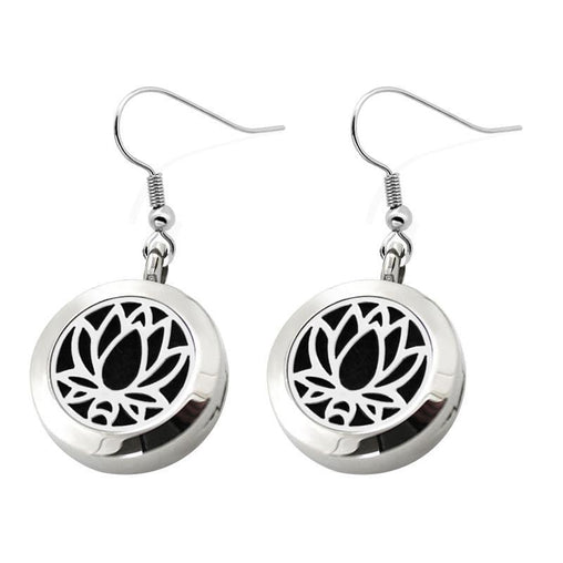 Lotus Scented Earrings