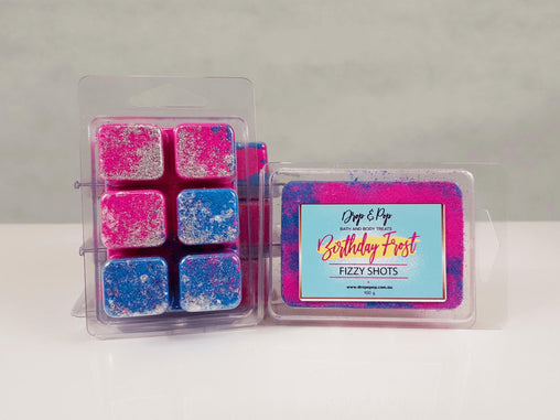 Birthday Frost Fizzy Bath Cubes