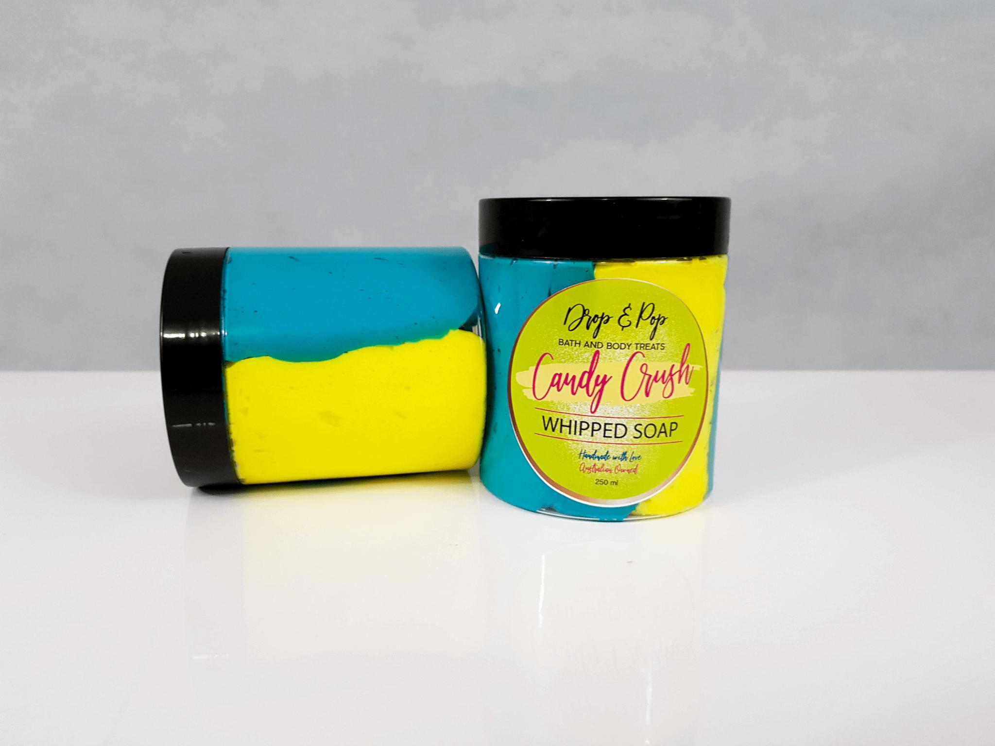 Candy Crush Luxury Whipped Soap
