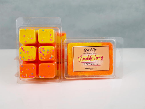 Chocolate Lovers Fizzy Bath Cubes