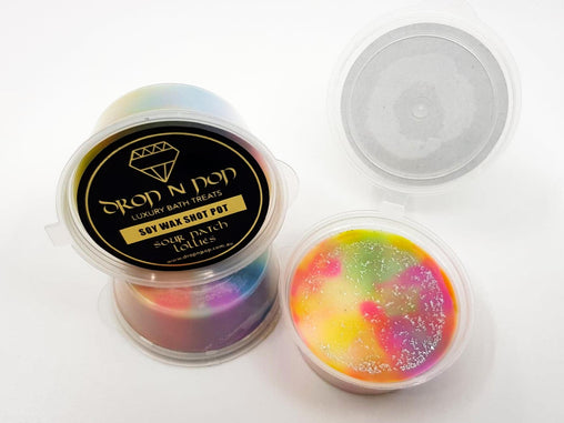 Sour Patch Lollies Soy Wax Shot Pot