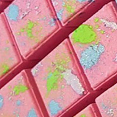 Hot Pink Lime Cubic Bath Bomb