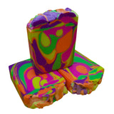 Rainbow Swirls Artisan Soap