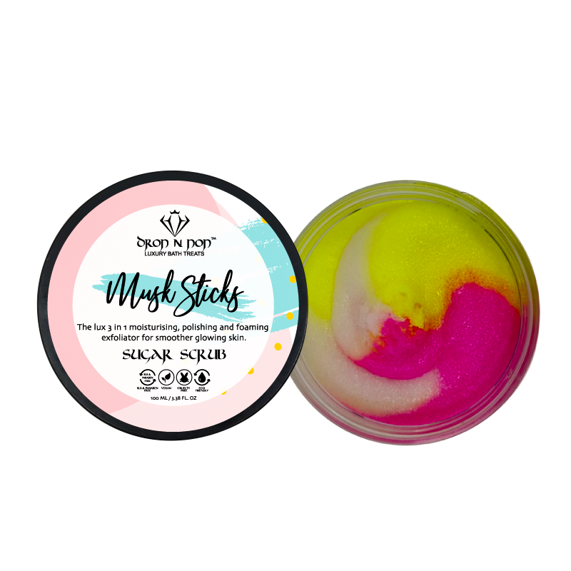 Musk Sticks Sugar Scrub