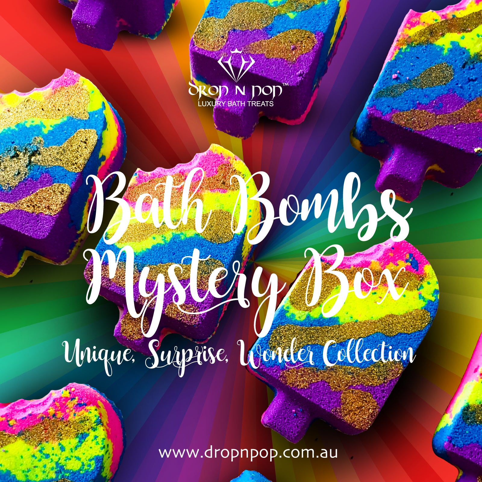 Luxury Bath Bombs Mystery Box