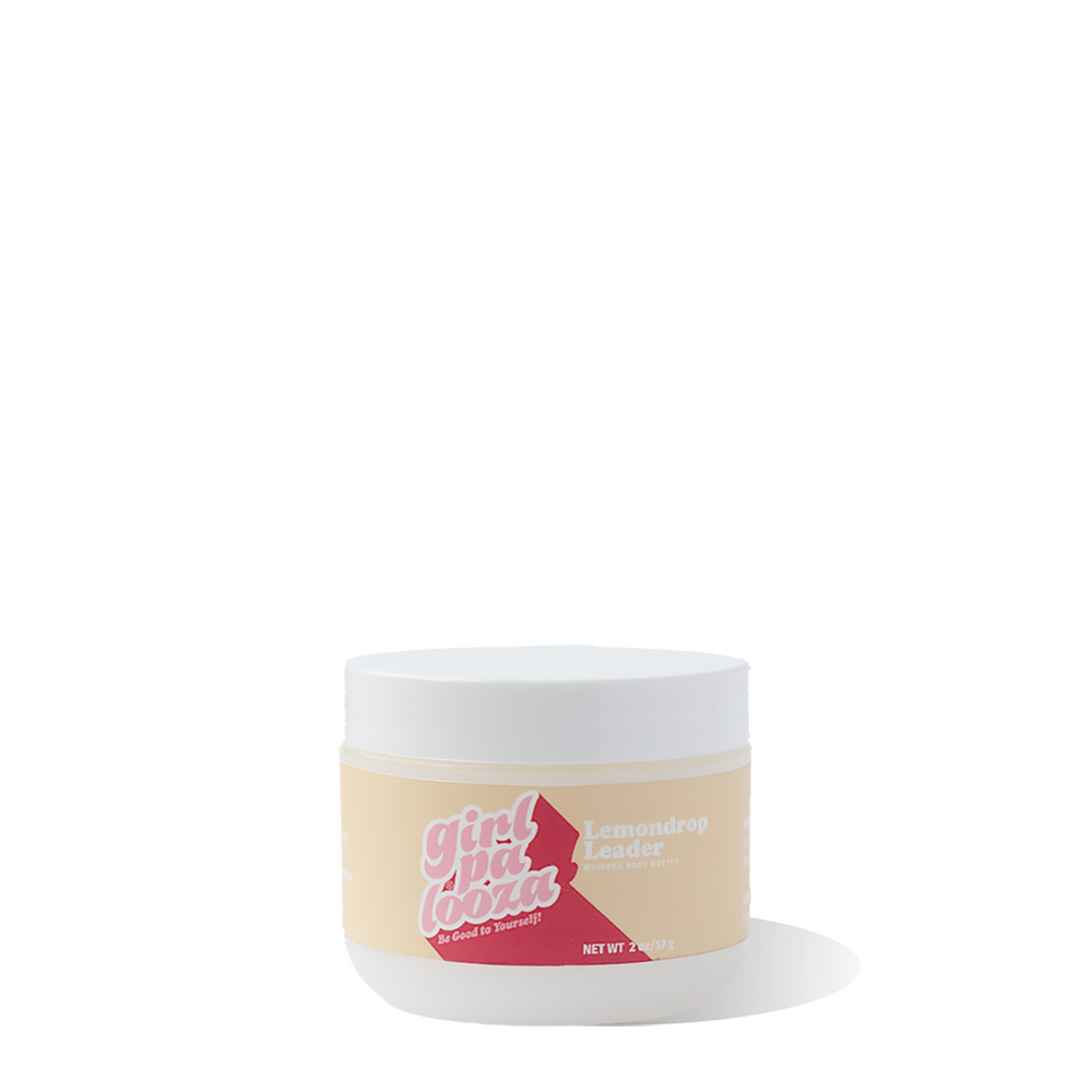 Lemondrop Leader Whipped Body Butter Travel Size - Girlpalooza