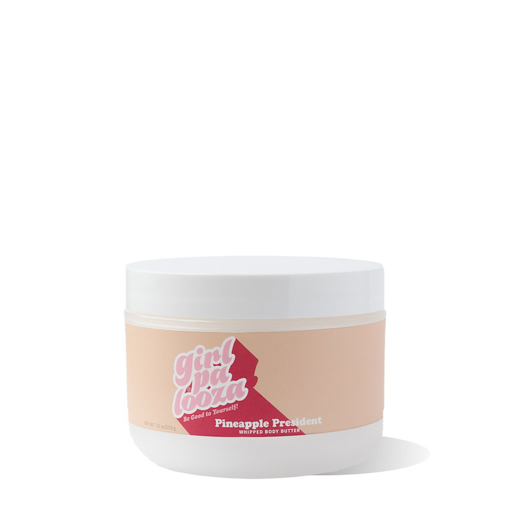 Pineapple President Whipped Body Butter - Girlpalooza