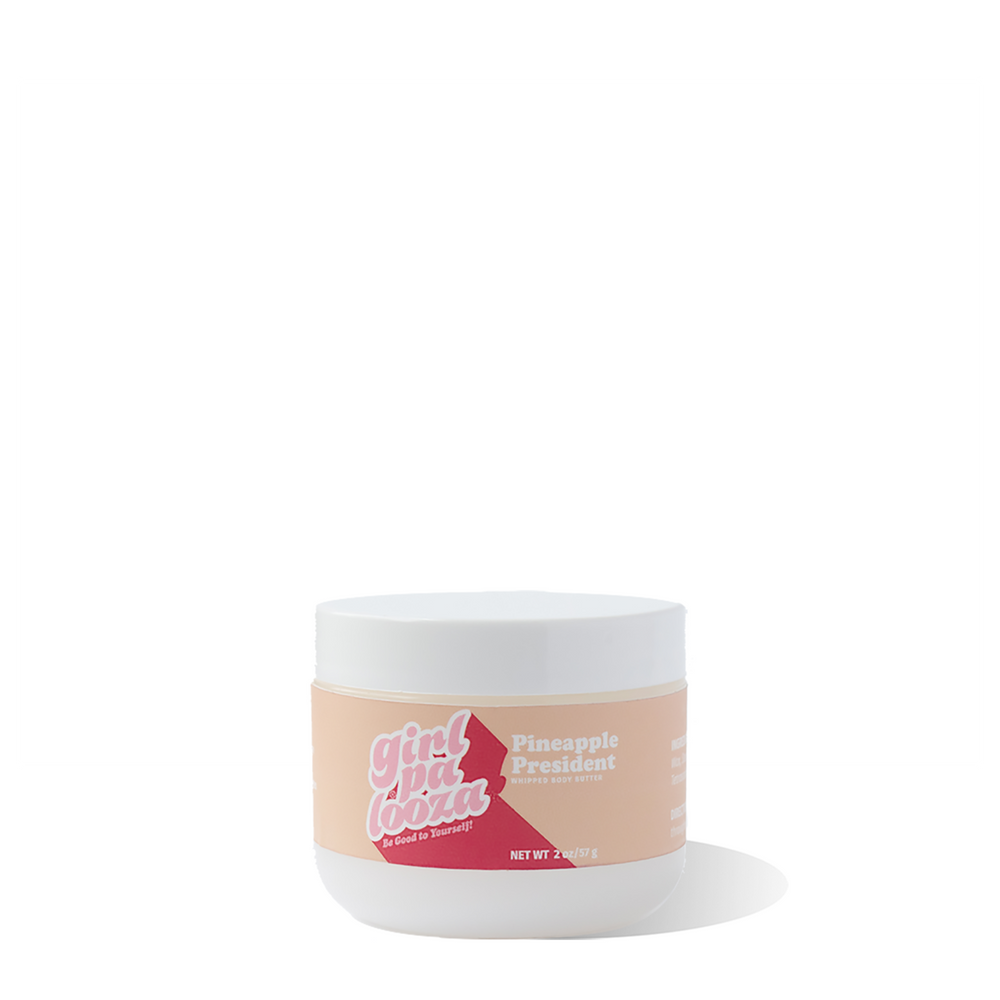 Pineapple President Whipped Body Butter Travel Size - Girlpalooza