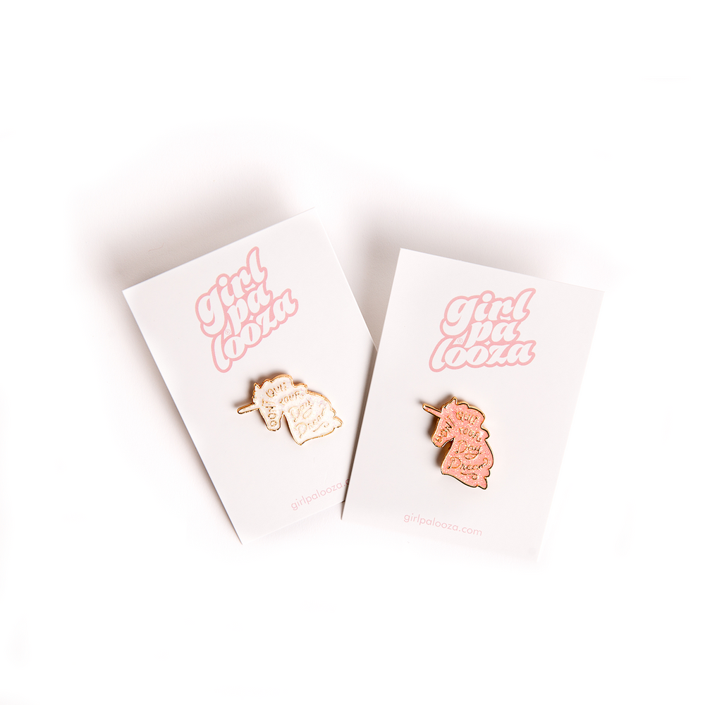 Girlpalooza Unicorn Enamel Pins