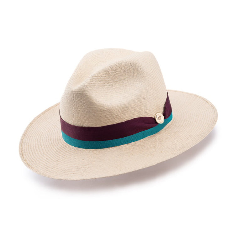 Botanical Toquilla Straw Hat