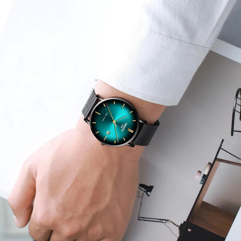 RADIANT quartz watch - teal
