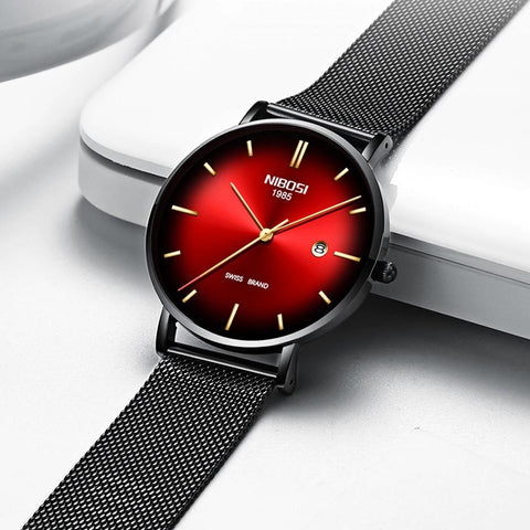RADIANT quartz watch - red