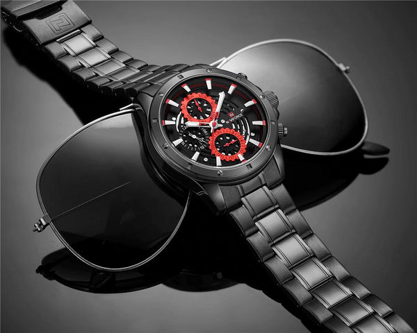 COGS quartz watch - with sunglasses