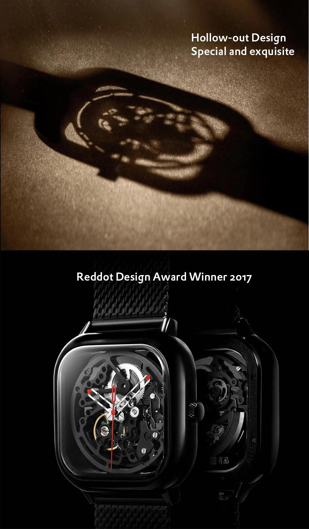 HOLLOW mechanical watch - reddot winner