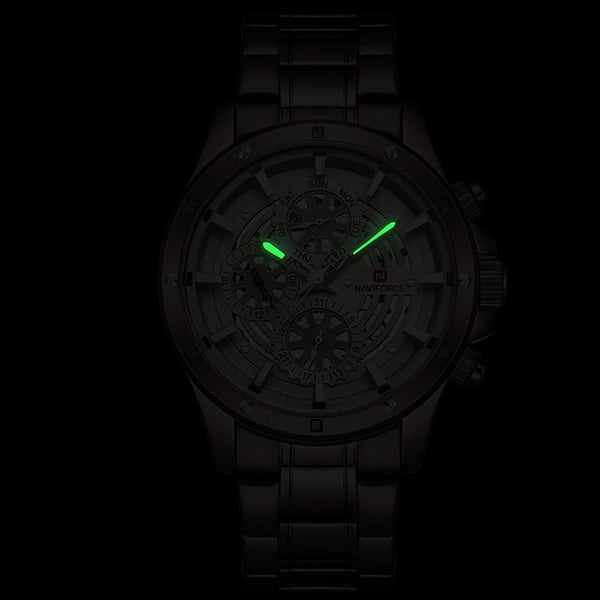 COGS quartz watch - luminous hands in the dark