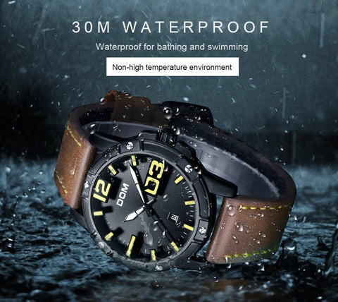 DOMINANT quartz watch - waterproof