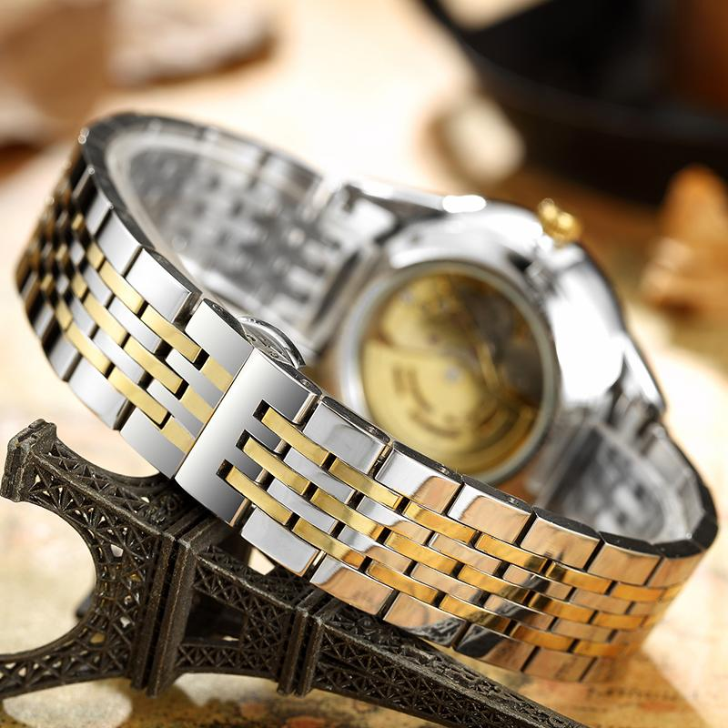DRAGON automatic watch - stainless steel band