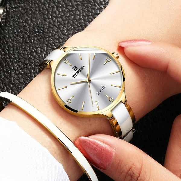 LUXY LADY watch - on hand
