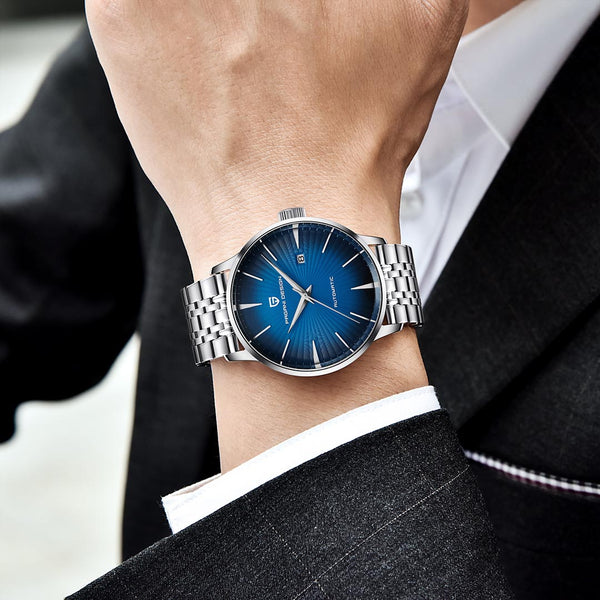 RAY BURST watch worn by suit