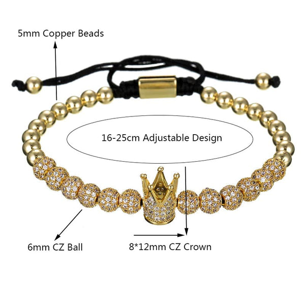 KINGS - 3 piece bracelet - sizing