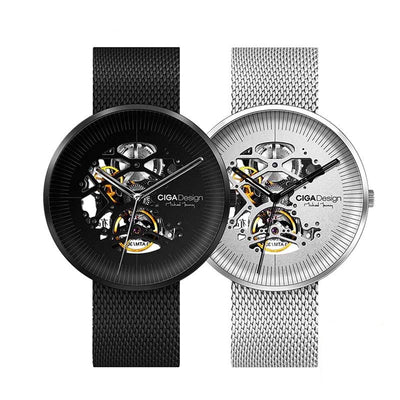 HOLLOW ROUND automatic watch