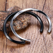 FORGE twisted cuff bangle