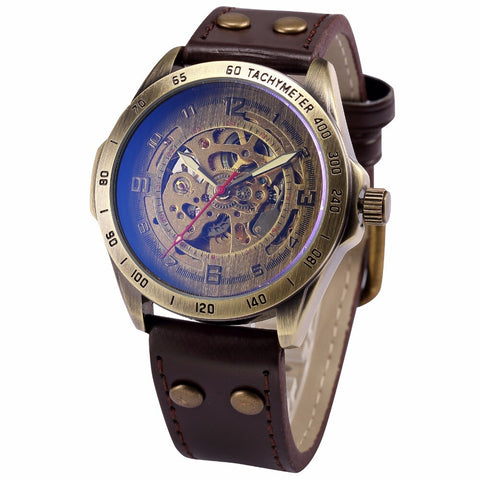 STEAMPUNK automatic watch - rugged edition