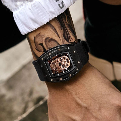 PIRATE SKULL quartz watch