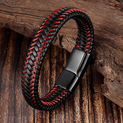 Trendy Leather Rope Bracelet