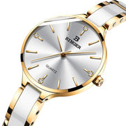 LUXY LADY watch and bangle and bracelet set