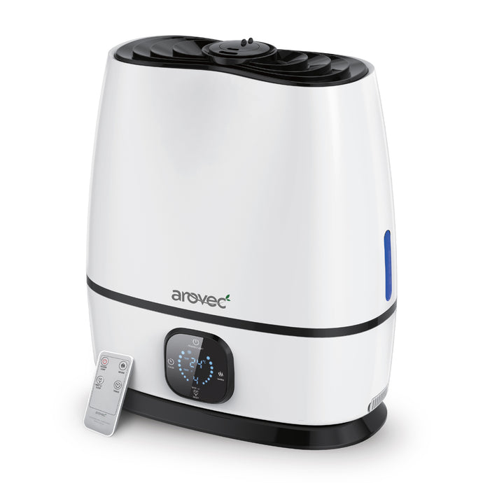 Arovec AroMist-6000 Ultrasonic Cool & Warm Mist Humidifier