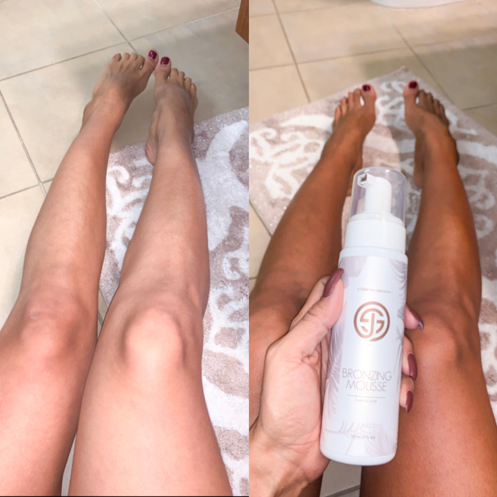 Sjolie Sunless Self-Tan Bronzing Mousse