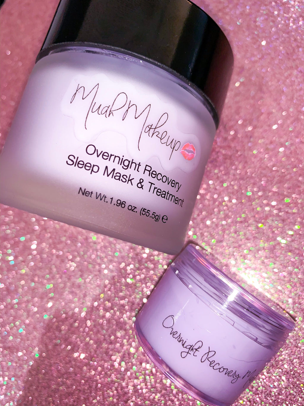 "Muah Skincare Minis "" Overnight Recovery Sleep Mask & Treatment"""
