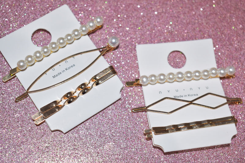 Bobby Pin Trio Set