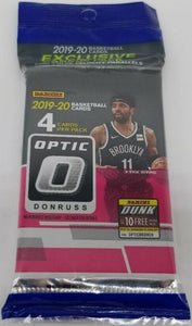 2019-20 Panini Donruss Optic Basketball Cello / Hangar Pack