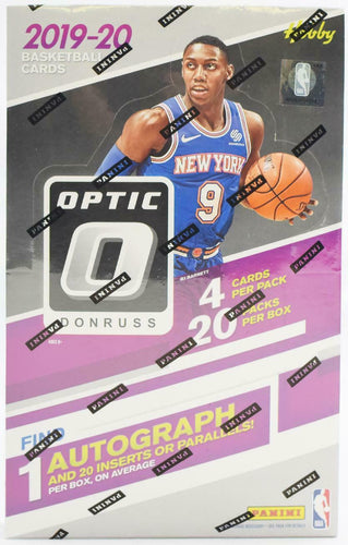 2019-20 Panini Donruss Optic Hobby Box - Factory Sealed