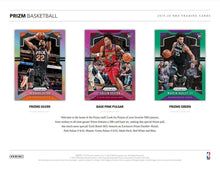 Load image into Gallery viewer, 2019-20 Panini Prizm Retail Box - Factory Sealed